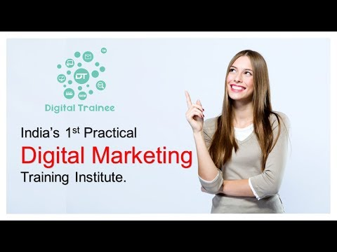 India's 1st Practical Digital Marketing Training Institute - Digital Trainee