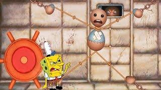 Spongebob Mini Trolling Games vs The Buddy - Spongebob Game's Frenzy V