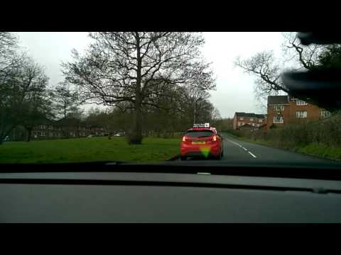 Becky drives around Redditch (road view)