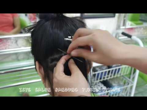 Sambung Rambut Terbaru Terkini Dan Ter Update By Isye Salon Bandung T 081220999696 Youtube