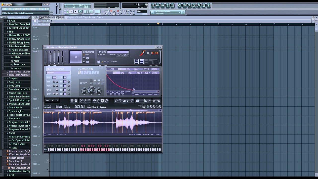 Транс на клаве в fl studio
