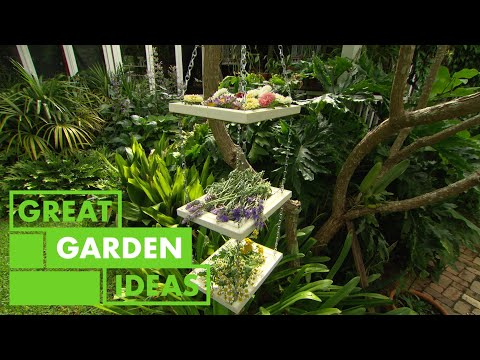 How to Make a Flower and Herb Drying Rack | GARDEN | Great Home Ideas