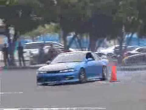 Japanese Nissan S14 Gymkhana (ziptieddotcom)