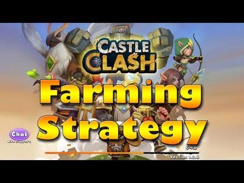 Castle Clash - Best Farming Strategy
