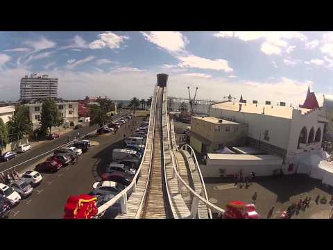 TAKE A ROLLER COASTER RIDE LIKE NO OTHER ... Scenic Railway Luna Park, Melbourne Australia