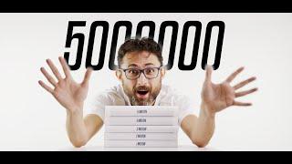 5 milyon aboneye 5 milyon kez teşekkürler!