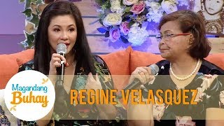 Magandang Buhay: Regine becomes emotional as she talks about how strong her mother is