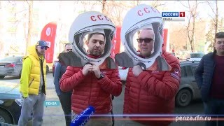 Во время автопробега Стиллавин и Вахидов сделали остановку в Пензе
