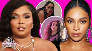 Lizzo admits she doesn't like her body | Beyonce's IvyPark team face backlash over blackfish models