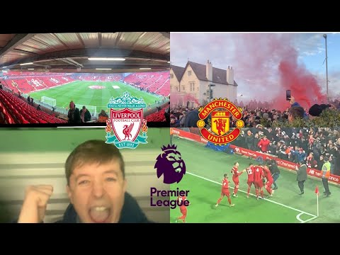 Liverpool Vs Manchester United 2-0 rivalry at it's finest Where gonna win the league*Vlog*highlights