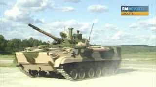 BMP-3F Infantry Vehicle Shown At Indo Defence 2012