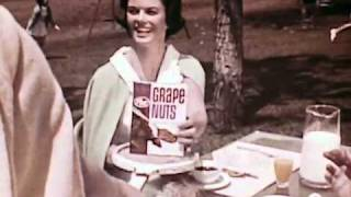 Post Grape Nuts Foley Family Commercial, 1966