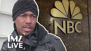 Nick Cannon Is Devastated Over His Feud With NBC | TMZ Live