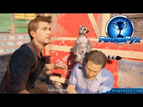 Uncharted 4: A Thief's End - Don't Feed the Animals Trophy Guide (Chapter 11)