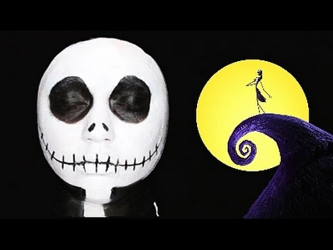 JACK SKELLINGTON MAKEUP TUTORIAL! (SepTIMber 2014) - YouTube