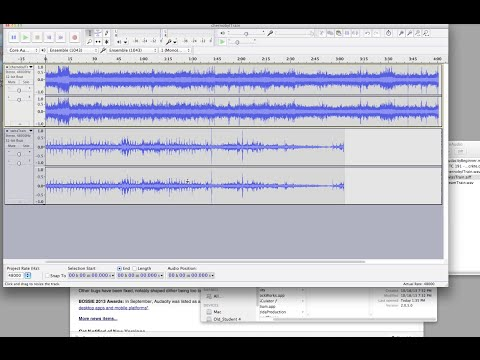 Audacity Beginner Tutorial