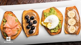 Sweet Potato Toast | Fuel & Gainz by Fit Men Cook
