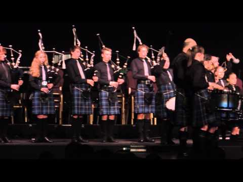 Highland Youth Pipe Band Aviemore 2014