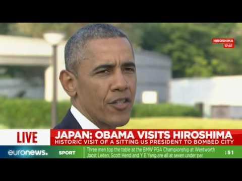 LIVE: Obama speaks at Hiroshima memorial