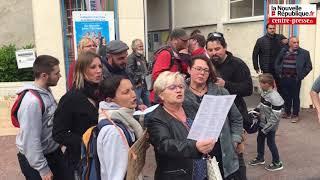 Vidéo. Châtellerault : une manifestation pour la venue du ministre Blanquer