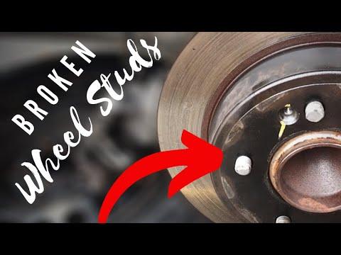How to replace a broken wheel stud or wheel hub (Hyundai Elantra)