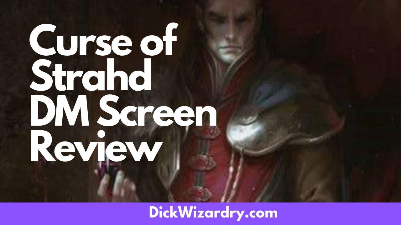 Curse of Strahd D&D DM Screen Review — DickWizardry