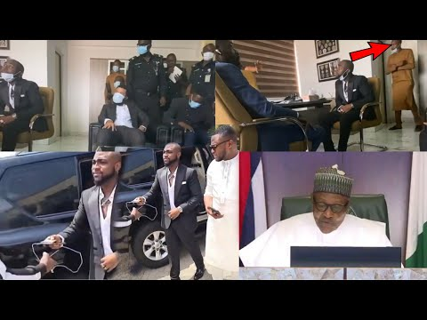 Exclusive Footage on Davido Meeting with the IGP in Abuja, | President Buhari Speaks on EndSARS