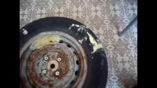 Как сделать блины для штанги из автомобильного колеса? часть 2(, 2015-01-22T16:41:33.000Z)