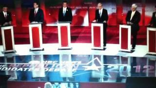 Ron Paul Dominates in Latest New Hampshire NBC/Facebook Debate 1/8/12