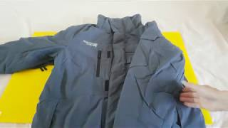 79 USD Aliexpress Running River Snow Jacket Openning Unboxing