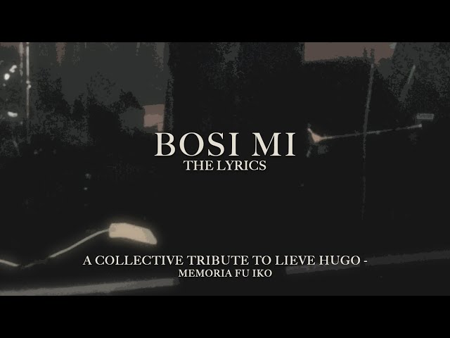 Powl Ameerali - Bosi Mi [The Lyrics]