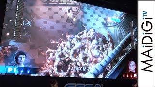 倉持由香&吉田早希「気持ちいい、気持ち悪い」最新ゲームに大興奮 「HOUSE OF THE DEAD~SCARLET DAWN~」イベント3 吉田早希 動画 29