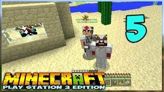 ч.05 - Строим свои Домики - Minecraft На Приставке