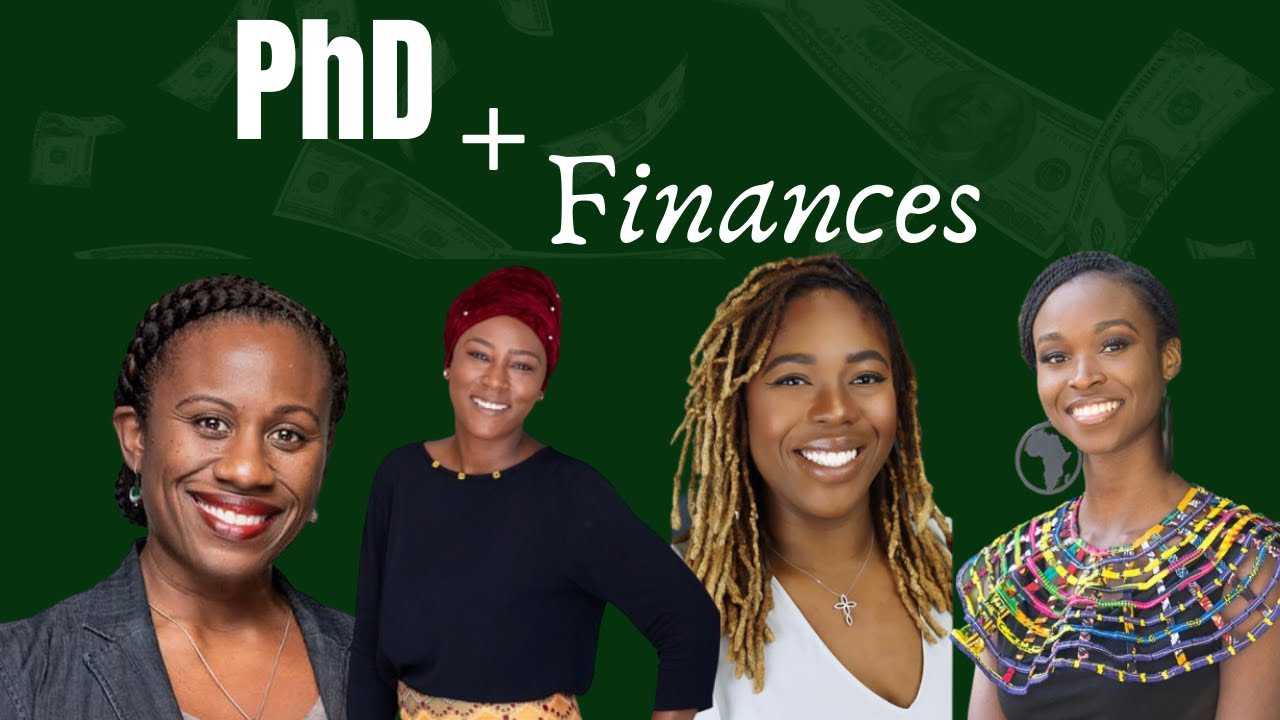 On PhD Funding, Student Fees, Finances in a PhD Program | The African PhD - YouTube