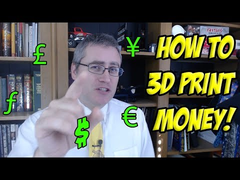 How to make $100-$1000 a month with 3D printing