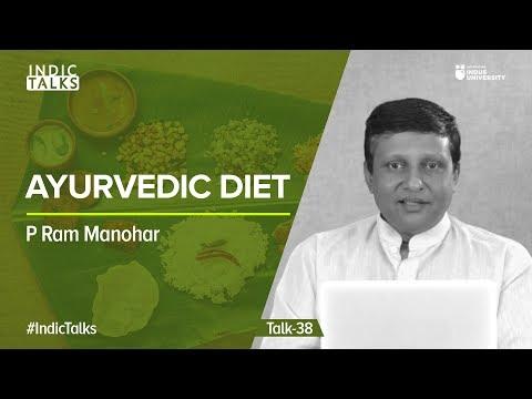 Ayurvedic Diet P Ram Manohar #IndicTalks