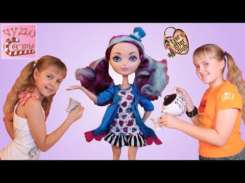 Ever After High Madeline Hatter (Мэдлин Хэттер). Обзор и распаковка куклы.