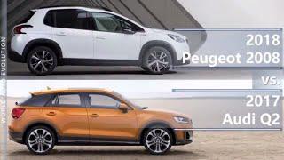 2018 Peugeot 2008 vs 2017 Audi Q2 (technical comparison)