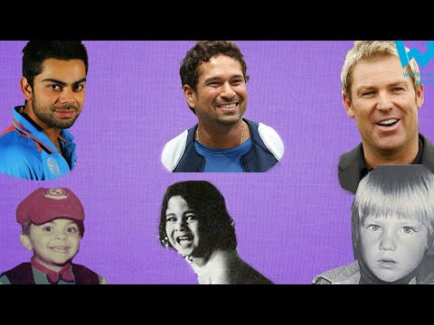 Childhood Pictures of your Favourite Cricketers we Bet you haven't Seen Before
