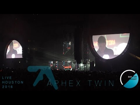 Aphex Twin - Live in HD (DAY FOR NIGHT) Houston, Texas 12-17-2016