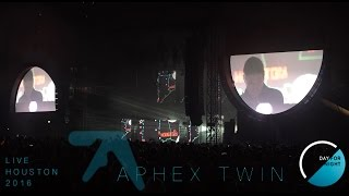 Aphex Twin Live In HD DAY FOR NIGHT Houston Texas 12 17 2016