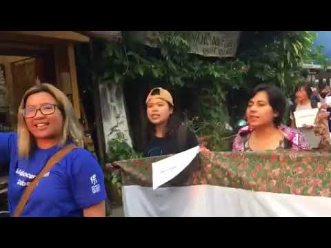 Women's rights activist reject CPTPP