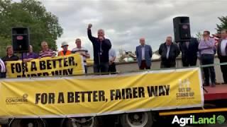 Bord na Móna protest