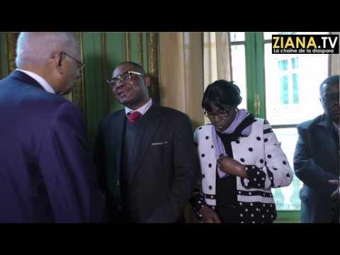 Ambassade du Congo en France: Voeux  2015 de M. Henri Lopes au personnel