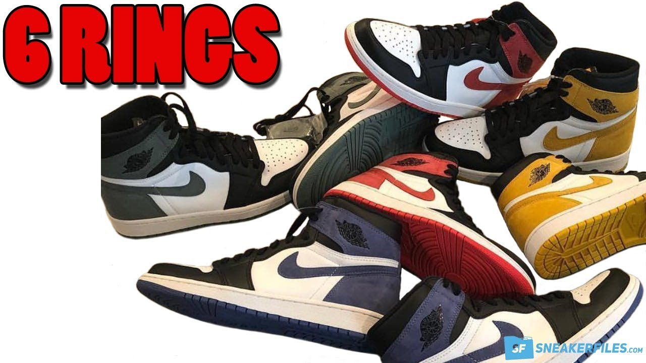huge selection of 96ade cd5fa AIR JORDAN 1 6 RINGS COLLECTION, JORDAN 2 MELO, JORDAN 9 MELO, OFF-WHITE x  NIKE AND MORE