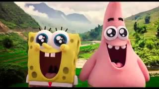 SpongeBob: Aventuri pe uscat 3D - Trailer dublat în română