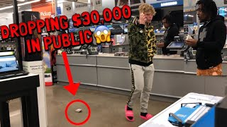 DROPPING $30,000 IN PUBLIC!! thumbnail