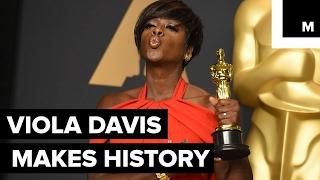 Viola Davis is first black woman to win award triad