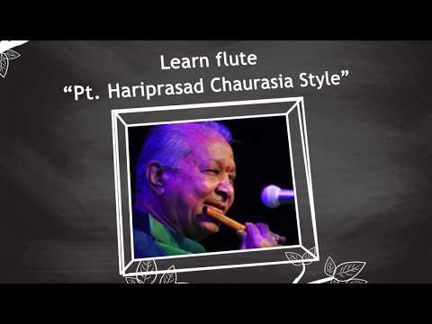 "myGurukul - learn flute ""Pt. Hariprasad Chaurasia Style"" from Vivek Sonar"
