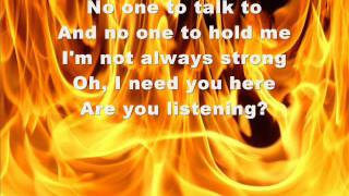 kelly clarkson hear me lyrics